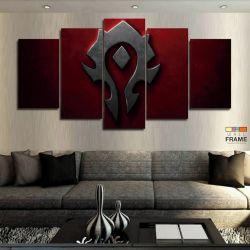 Quadros Decorativos World Of Warcraft 63x130cm em Tecido