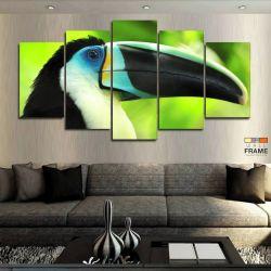 Quadros Decorativos Tucano 63x130cm em Tecido