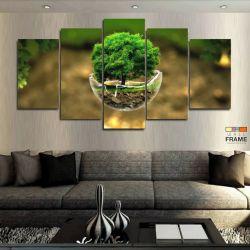 Quadros Decorativos Natureza Hd 63x130cm em Tecido