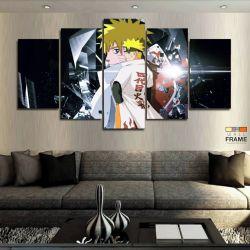 Quadros Decorativos Mangá Naruto 63x130cm em Tecido