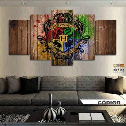 Quadros Decorativos Harry Potter 63x130cm em Tecido