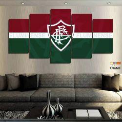 Quadros Decorativos Fluminense 63x130cm em Tecido