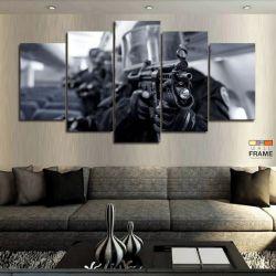 Quadros Decorativos Counter Strike Go 63x130cm em Tecido