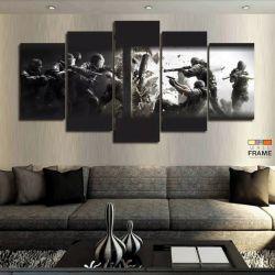 Quadros Decorativos Counter Strike 63x130cm em Tecido