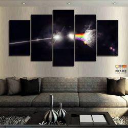 Quadros Decorativos Banda Pink Floyd 63x130 cm em Tecido