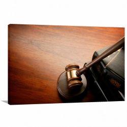 Quadro decorativo Escritórios - Advocacia - Tela em Tecido