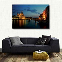 Quadro Decorativo Cidades - Veneza - Tela em Tecido