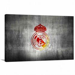 Quadro decorativo Real Madrid C F Tela em Tecido