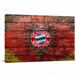 Quadro Bayern decorativo Vintage com Tela em Tecido