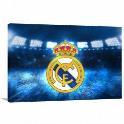 Quadro Real Madrid decorativo com Tela em Tecido