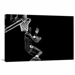Quadro Michael Jordan Basquete decorativo - Tela em Tecido