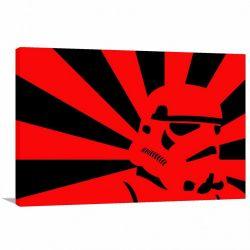 Quadro decorativo Pop Art Star Wars Tela em Tecido