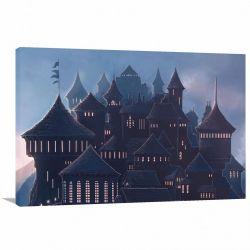 Quadro decorativo Harry Potter com Tela em Tecido