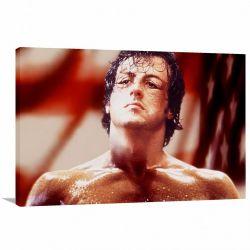 Quadro decorativo Rocky Balboa - Filme - Tela em Tecido