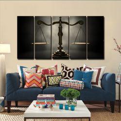 Quadros Decorativos Direito - Balança 65x140mt em Tecido