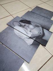 Quadros Personalizado Com Sua Foto 63x130cm em Tecido